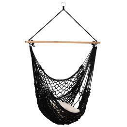 Hamac Chaise Rope Black