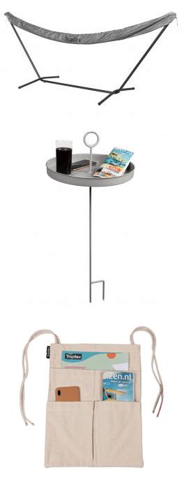 Accessoires sympas pour hamacs et chaises suspendues
