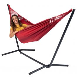 Hangmatset Single Easy & Dream Red