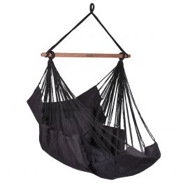 Hangstoel Sereno Black