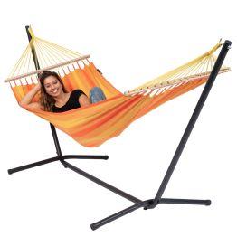 Hængekøje med Enkelt Stativ Easy & Relax Orange