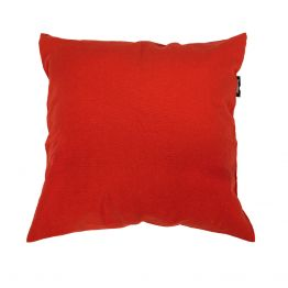 Almohada Plain Red