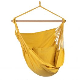 Hamaca-silla Individual Organic Yellow