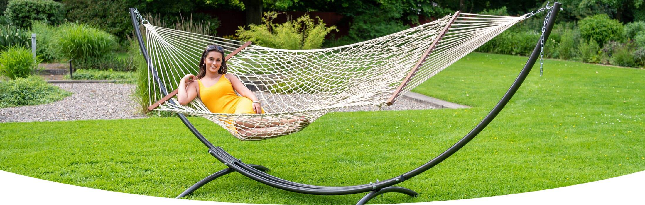 Hammock Rope with hammock stand Arc