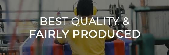 Amache della massima qualità da produzione equa e solidale