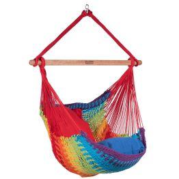 Hammock Chair Mexico Rainbow