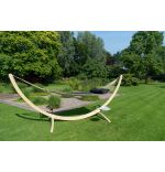 Hammock Set Family Wood & Vegas Black