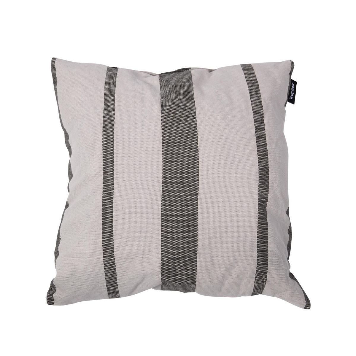 Kussen 'Stripes' Silver - Tropilex �