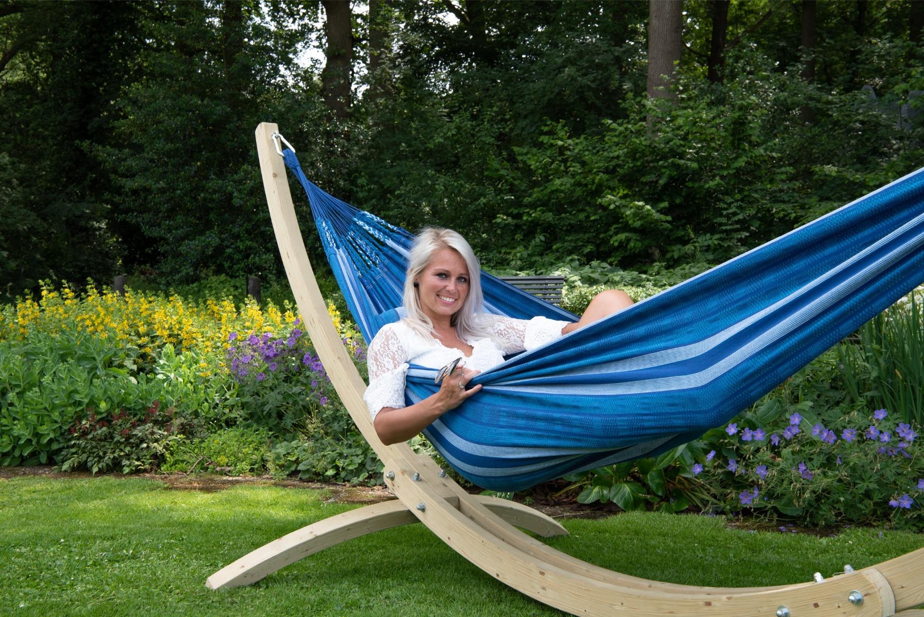 Hangmatset Double 'Wood & Chill' Calm - Tropilex ®
