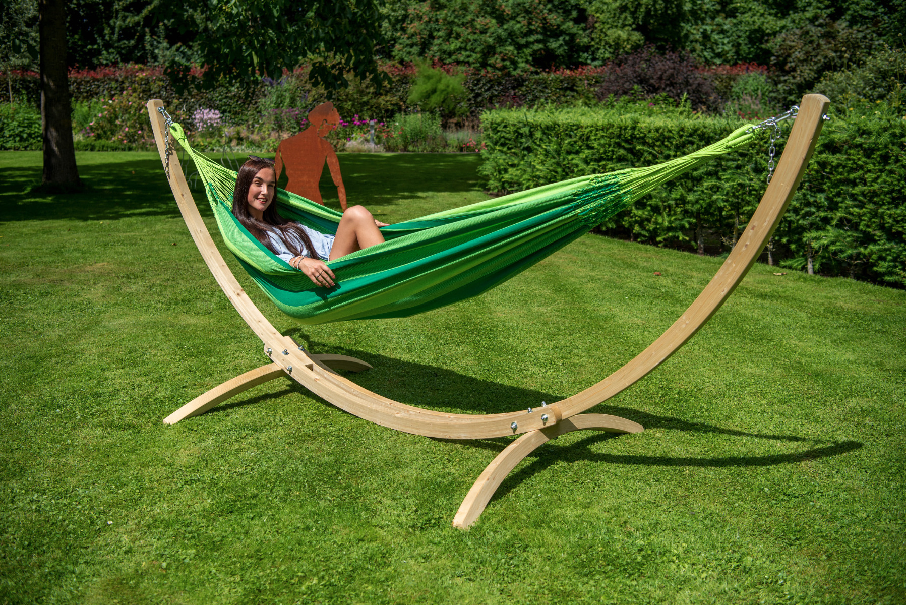 Hangmatset Single 'Wood & Dream' Green - Tropilex �