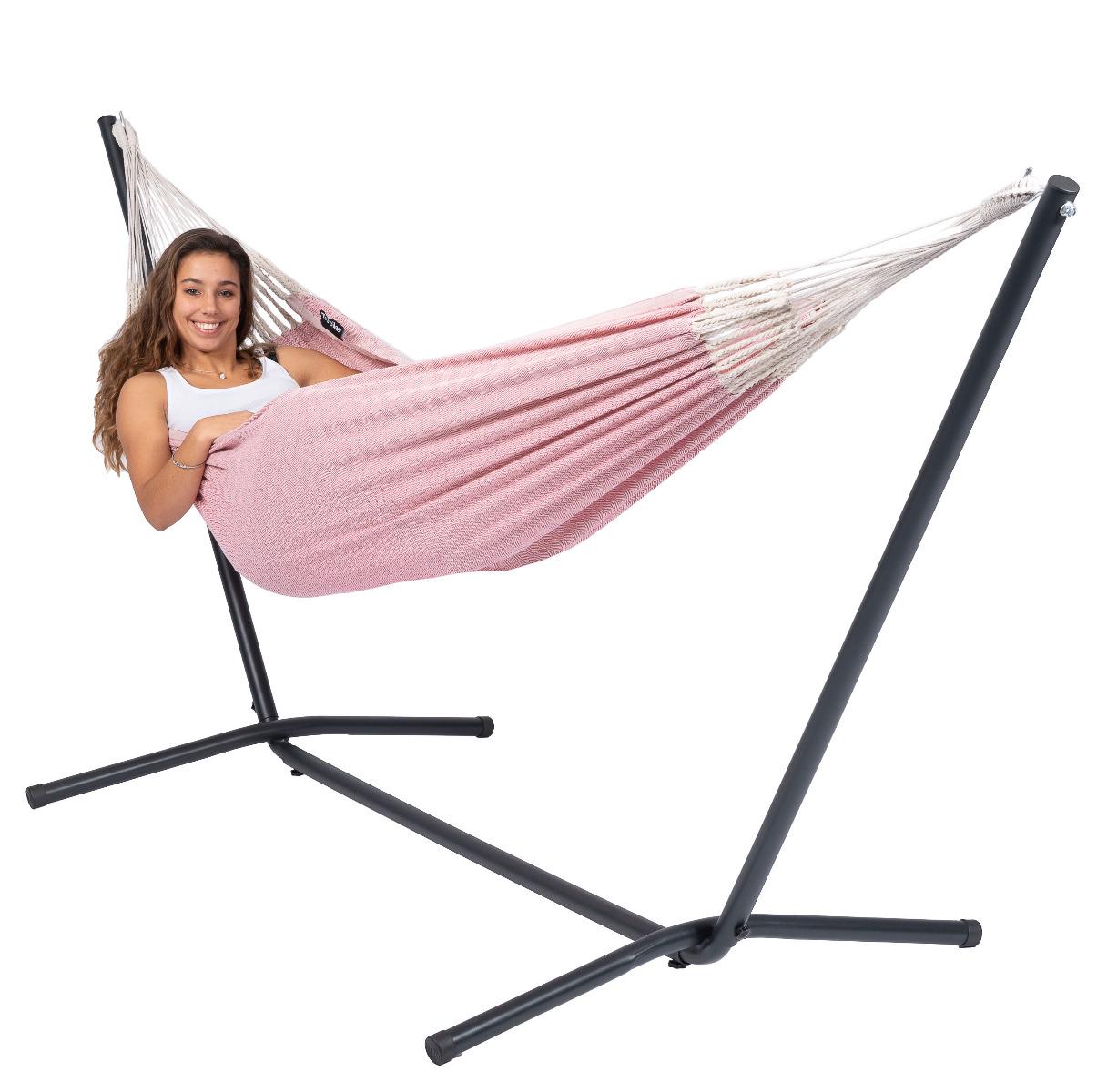 Hangmat 'Natural' Pink - Tropilex �