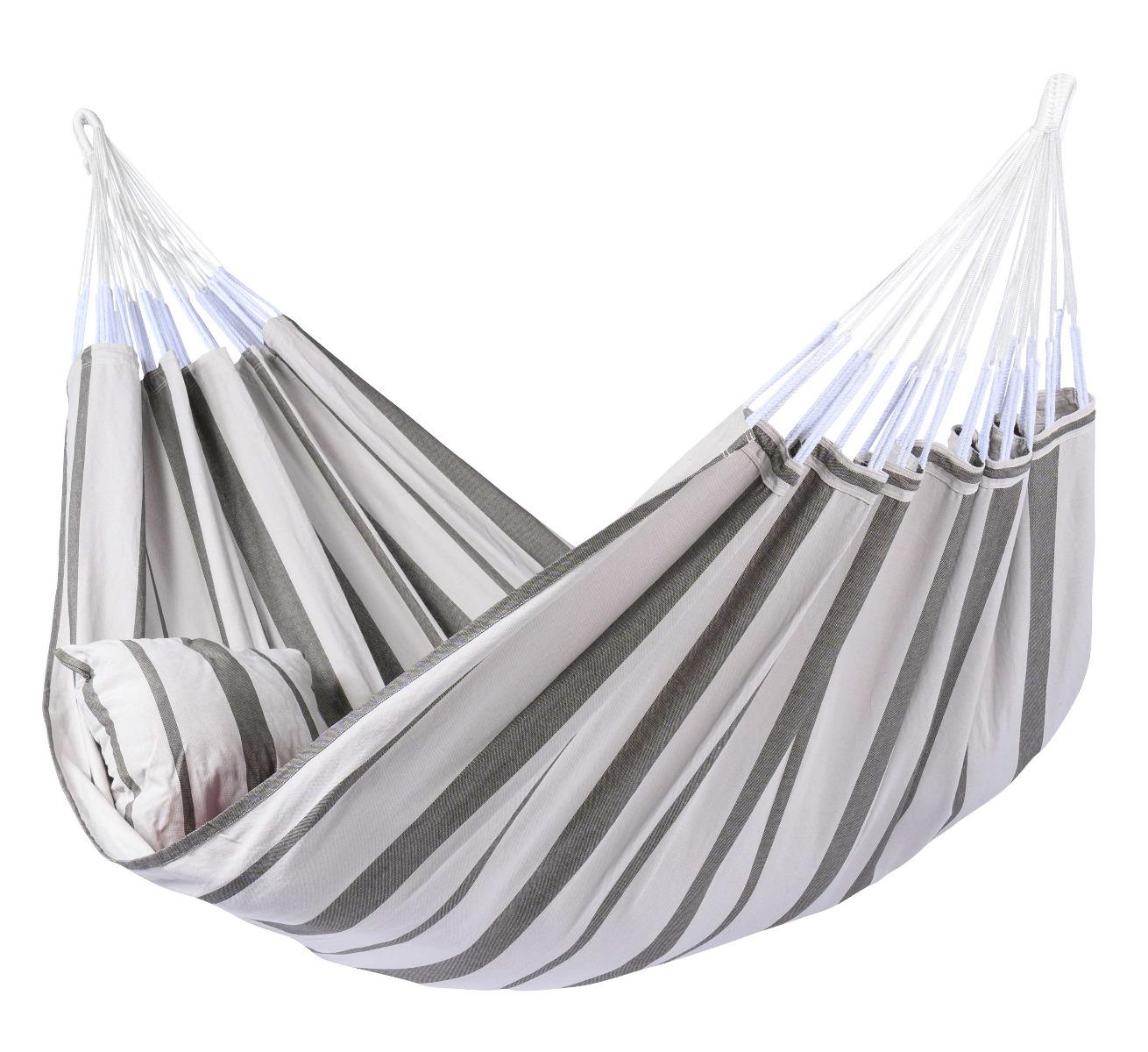 Hangmat 'Stripes' Silver - Tropilex ®