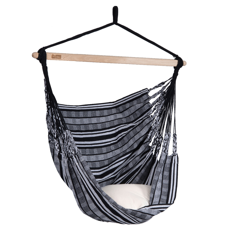 Hangstoel 'Comfort' Black White - Tropilex �
