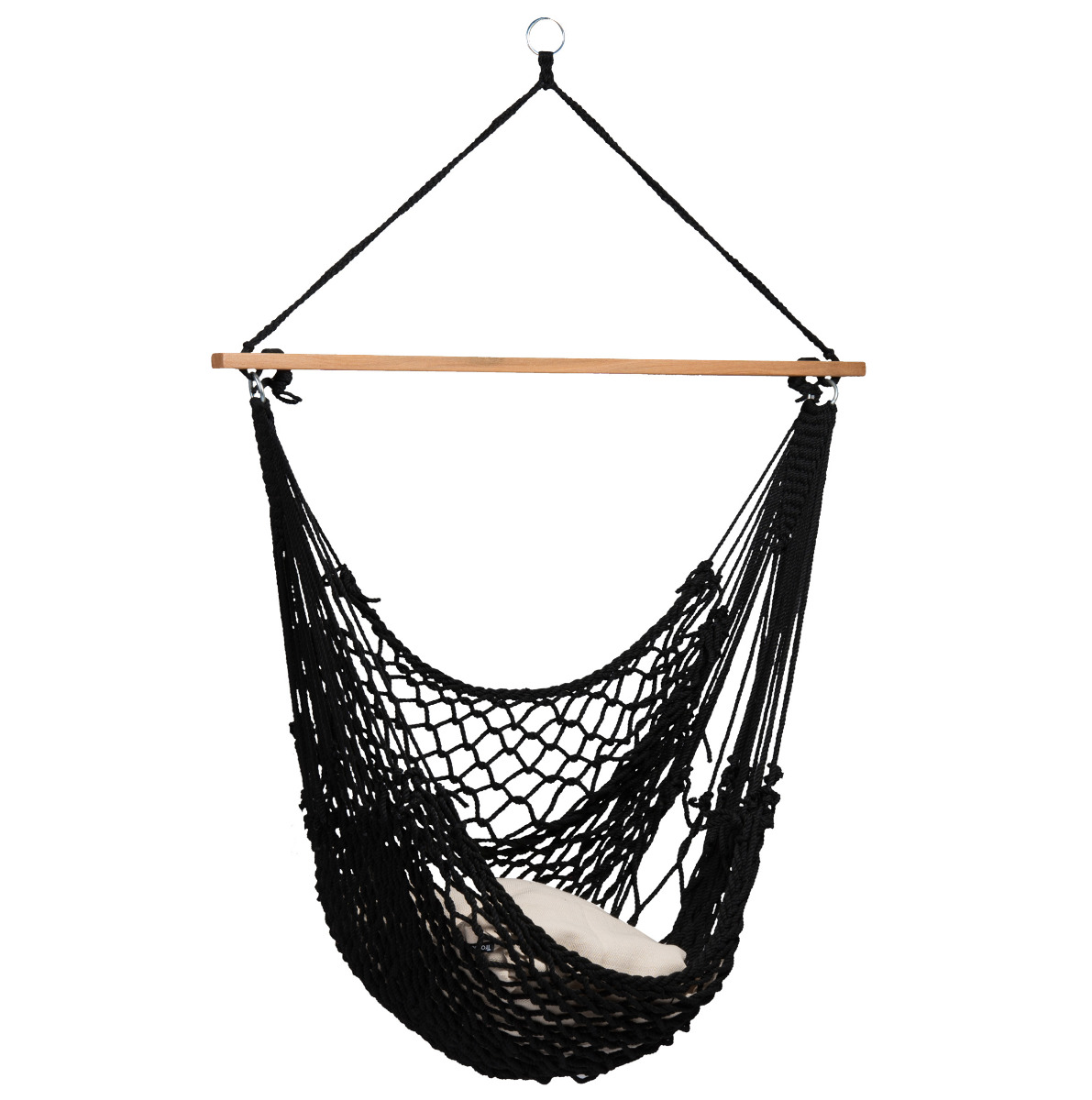 Hangstoel 'Rope' Black - Tropilex �