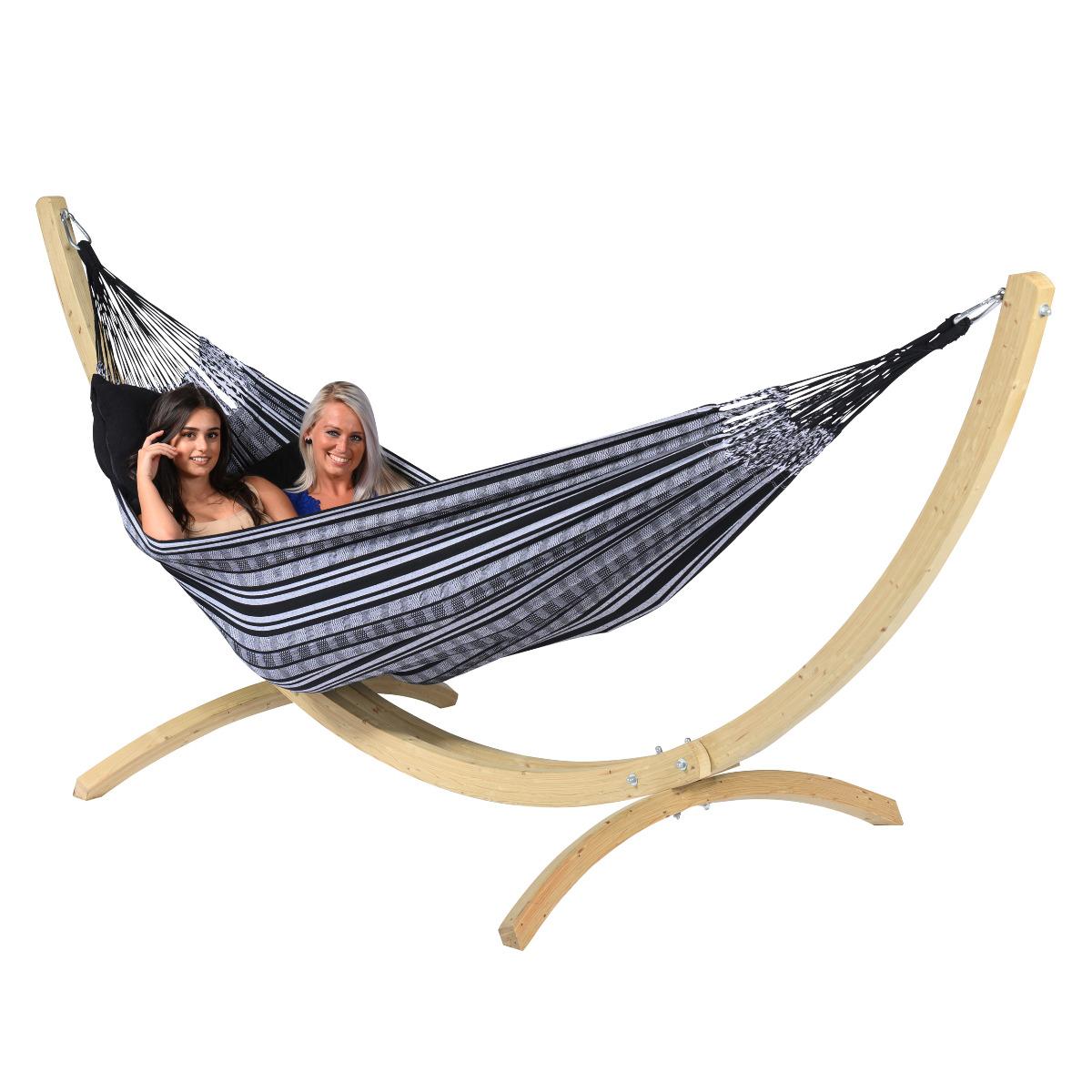 Hangmat 'Comfort' Black White - Tropilex �