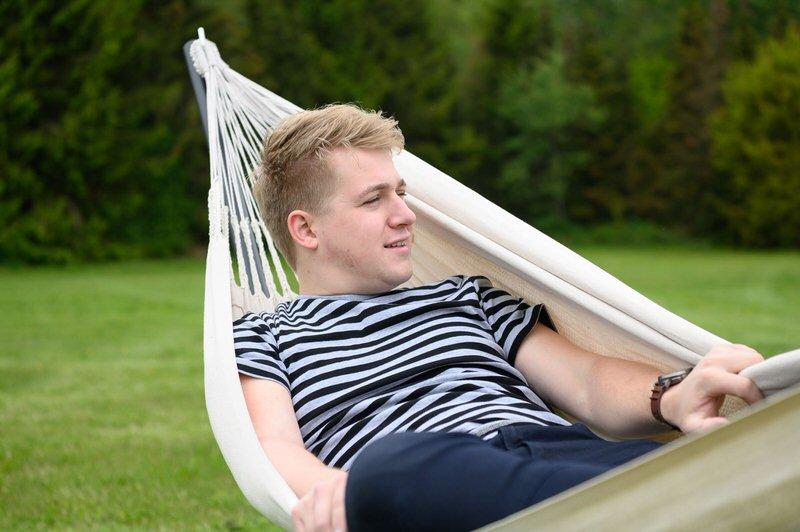 Natura, relaks i krzesło wiszące Tropilex Hamak, idealne dopasowanie do uwalniania stresu!