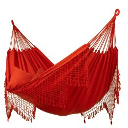 Cama de Rede Fine Red