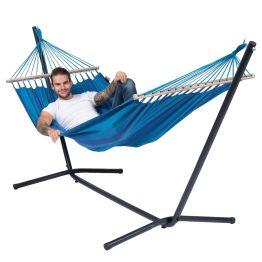 Cama de Rede com Suporte 1 Pessoa Easy & Relax Blue