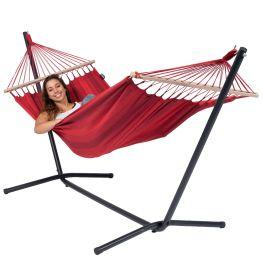 Cama de Rede com Suporte 1 Pessoa Easy & Relax Red