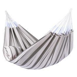 Cama de Rede Stripes Silver