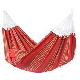 Cama de Rede Stripes Terracotta