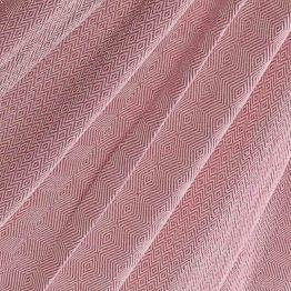 Pläd Natural Pink