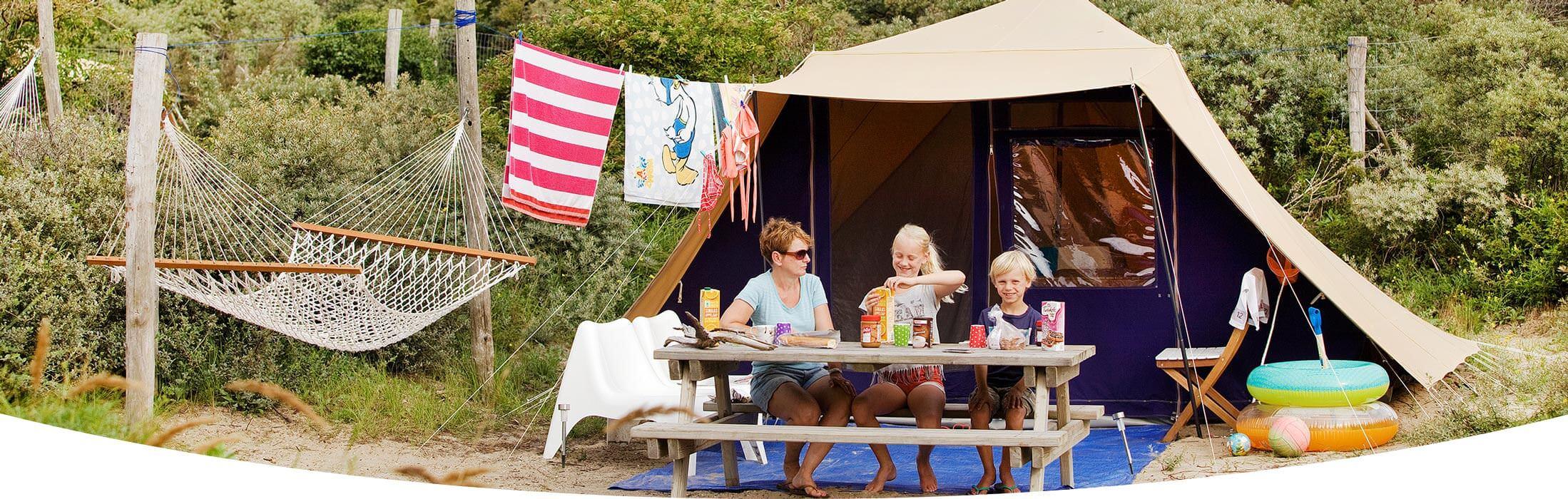 Hängmatta för campingplatser och hotell
