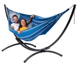 Hammock Set Double Arc & Chill Calm