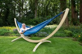 Hammock Set Double Wood & Chill Calm