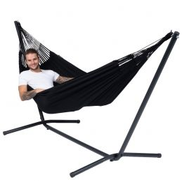 Hammock Set Single Easy & Classic Black