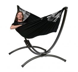 Hammock Set Single Arc & Classic Black