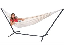 Hammock Set Single Easy & Classic White