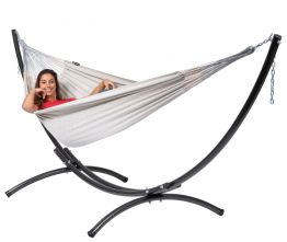 Hammock Set Double Arc & Comfort Pearl