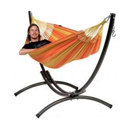 Hammock Set Single Arc & Dream Orange