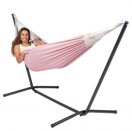 Hammock Set Single Easy & Natural Pink