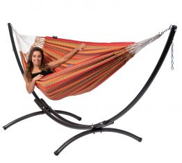 Hammock Set Double Arc & Premium Melon