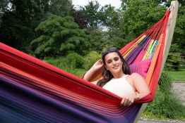Hammock Set Family Wood & Refresh Rainbow