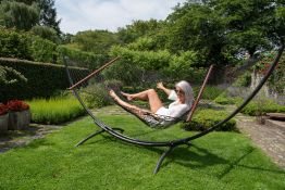 Hammock Set Family Arc & Rope Black