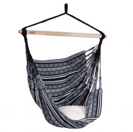 Hammock Chair Comfort Black White